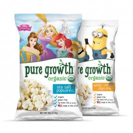 Pure Growth Organic Popcorn Multipack Frozen-12 pack