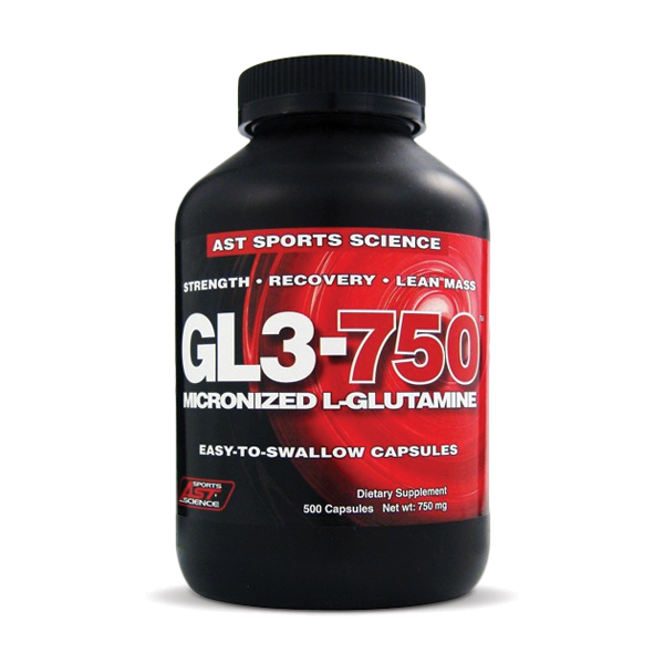 AST Micronized GL3 750 L-Glutamine | Bulu Box - sample superior vitamins and supplements