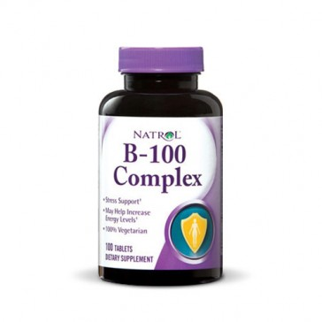 Natrol B-100 Complex | Bulu Box - sample superior vitamins and supplements
