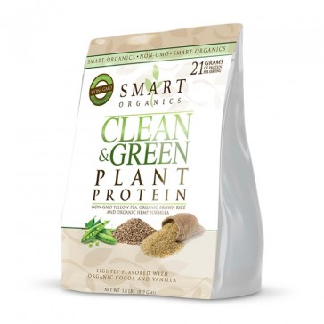 Smart Organics Clean & Green Plant Protein | Bulu Box - Sample Superior Vitamins and Supplements