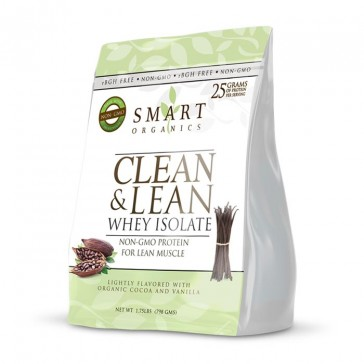 Smart Organics - Clean & Lean Whey Isolate | Bulu Box - sample superior vitamins and supplements