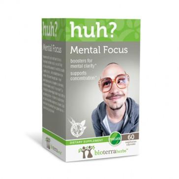 BioTerra Herbs Mental Focus... huh?   Bulu Box - sample superior vitamins and supplements