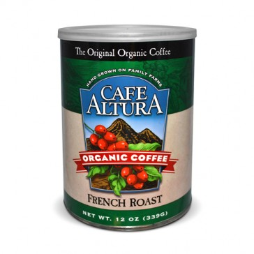 Café Altura French Roast Canned Organic Coffee | Bulu Box - Sample Superior Vitamins and Supplements