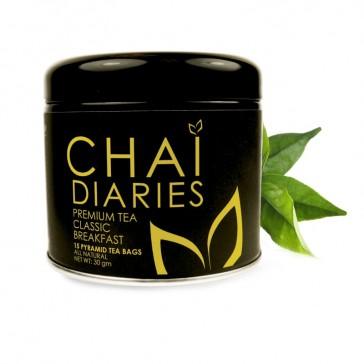 Chai Diaries Organic Classic Breakfast Tea  | Bulu Box - Sample Superior Vitamins and Supplements