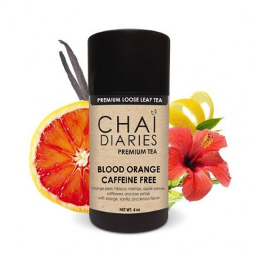 Chai Diaries Caffeine Free Blood Orange Tea  | Bulu Box - Sample Superior Vitamins and Supplements