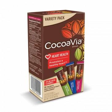 CocoaVia - Dark Chocolate and Cran-Raspberry Variety Pack | Bulu Box - sample superior vitamins and supplements