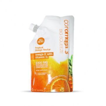 Coromega Big Squeeze Tropical Orange Nectar | Bulu Box - sample superior vitamins and supplements