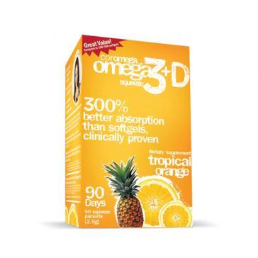 Coromega Omega 3 Squeeze   Bulu Box - sample superior vitamins and supplements