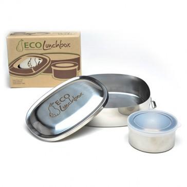 ECOlunchbox Oval 2 Piece Set | Bulu Box
