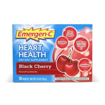 Emergen-C Heart Health   Bulu Box - sample superior vitamins and supplements