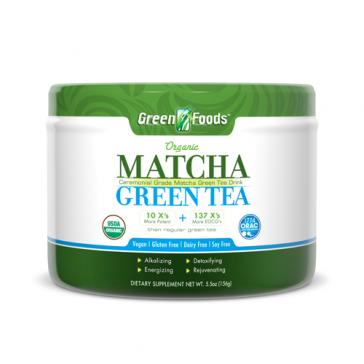 Green Foods Matcha Green Tea   Bulu Box - sample superior vitamins and supplements