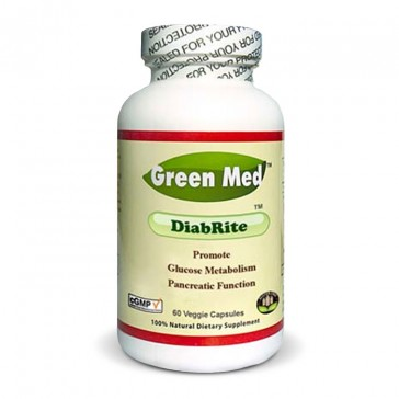 Green Med DiabRite   Bulu Box - sample superior vitamins and supplements