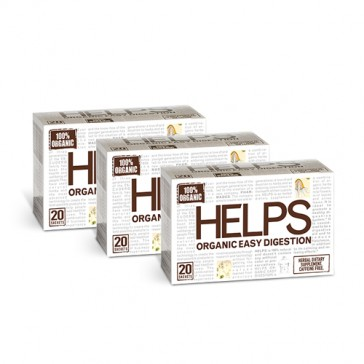 Helps Tea Organic Easy Digestion | Bulu Box - sample superior vitamins and supplements