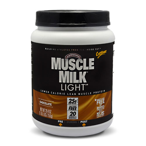 Muscle Milk Protein Powder Light