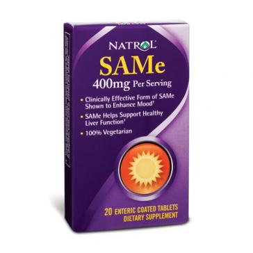 Natrol SAMe   Bulu Box - sample superior vitamins and supplements