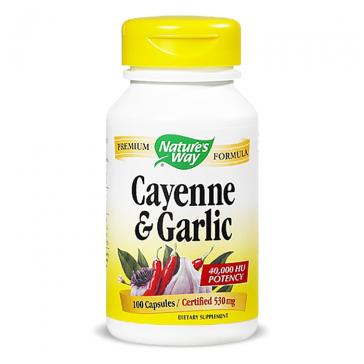 Nature's Way Cayenne & Garlic | Bulu Box - Sample Superior Vitamins and Supplements
