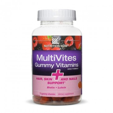 Nutrition Now MultiVites Gummy Vitamins + Hair Skin and Nails Support | Bulu Box - sample superior vitamins and supplements