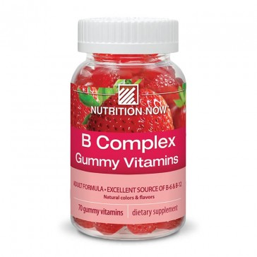 Nutrition Now Vitamin B Complex Gummy | Bulu Box - sample superior vitamins and supplements