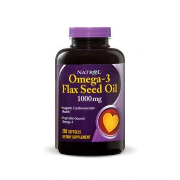 Natrol Omega-3 Flax Seed Oil | Bulu Box - sample superior vitamins and supplements