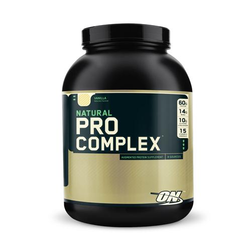 Optimum Nutrition Natural Pro Complex    Bulu Box - sample superior vitamins and supplements