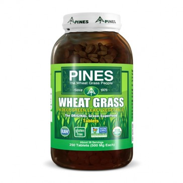 PINES International Wheat Grass Tablets | Bulu Box - sample superior vitamins and supplements
