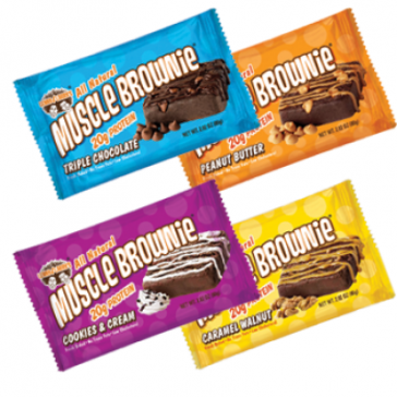 Lenny & Larry Muscle Brownies | Bulu Box - sample superior vitamins and supplements