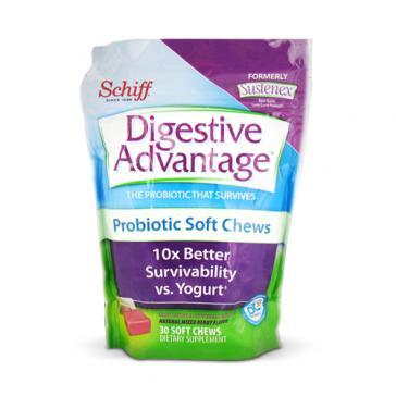 Schiff Vitamins Digestive Advantage Probiotic Soft Chew | Bulu Box - sample superior vitamins and supplements