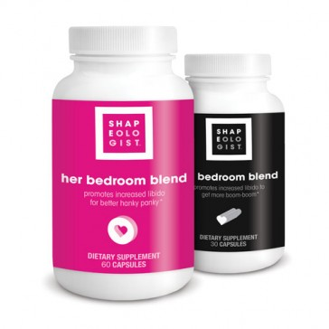 Shapeologist His & Her Bedroom Blend   Bulu Box Sample Superior Vitamins and Supplements