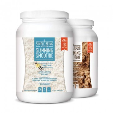 Bulu Box - sample superior health, nutrition and weight loss products | Simple Being Slimming Smoothie Tub