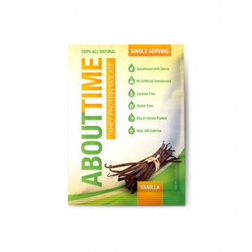 About Time Single Packets - Vanilla | Bulu Box - sample superior vitamins and supplements