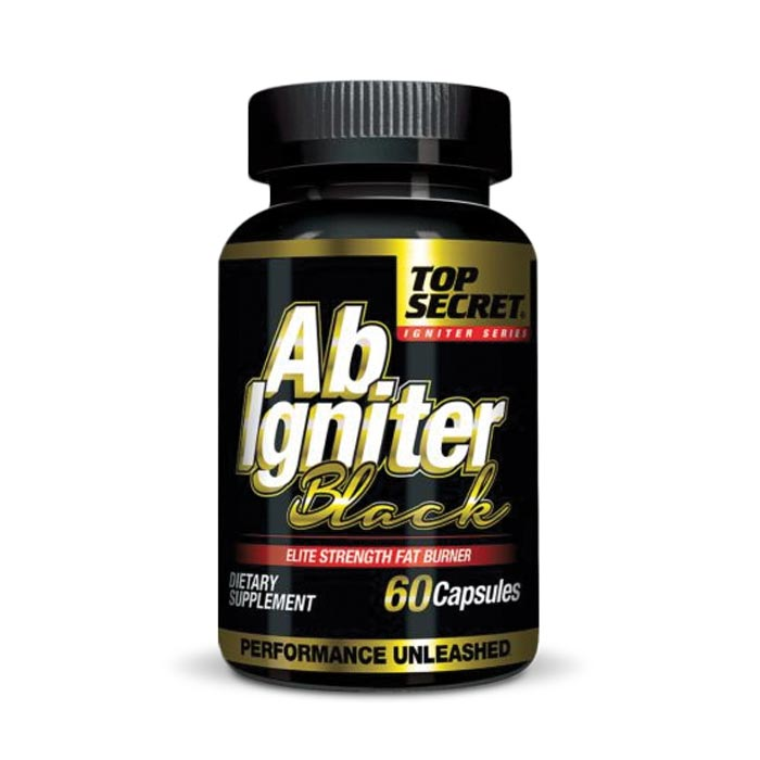 Top Secret Ab Igniter Black | Bulu Box - sample superior vitamins and supplements