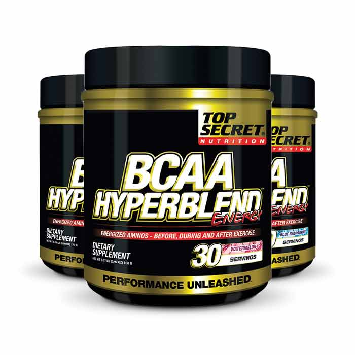 Top Secret Nutrition BCAA Hyperblend Energy   Bulu Box - sample superior nutrition & weight loss products