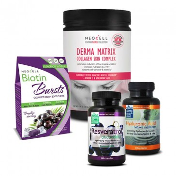 Radiant Revival Bundle | Bulu Box - Sample Superior Vitamins and Supplements