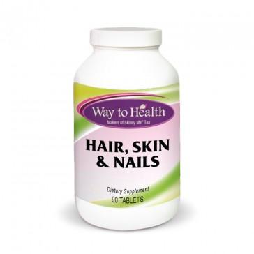 Way to Health Hair, Skin & Nails | Bulu Box Sample Superior Vitamins and Supplements