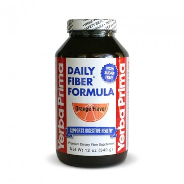 Yerba Prima Daily Fiber Formula Orange Flavor   Bulu Box - Sample Superior Vitamins and Supplements