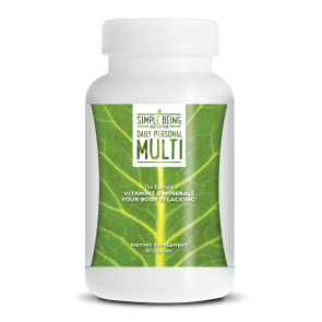 Simple Being Daily Personal Multi | Bulu Box - sample superior vitamins and supplements