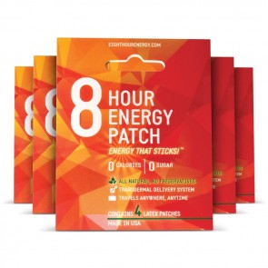 8-HOUR Energy Patch - 5 Pack | Bulu Box - sample superior vitamins and supplements