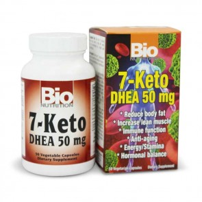 Bio Nutrition 50 vgc 7-Keto DHEA | Bulu Box - sample superior vitamins and supplements