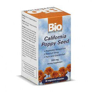 Bio Nutrition California Poppy Seed | Bulu Box - sample superior vitamins and supplements