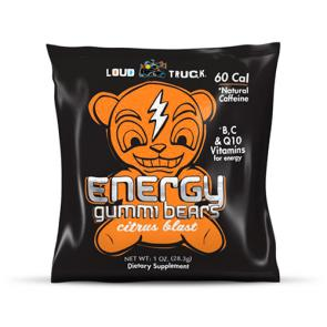 Loud Truck Energy Gummi Bears Citrus | Bulu Box - sample superior vitamins and supplements