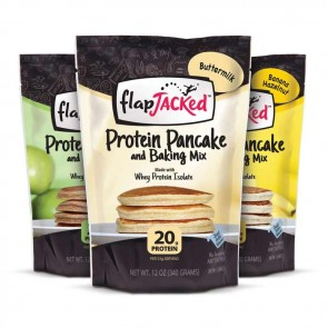 Flap Jacked Protein Pancake Mix - 3 Pack | Bulu Box - Sample Superior Vitamins and Supplements