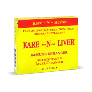 Kare-N-Herbs Kare-N-Liver | Bulu Box - sample superior vitamins and supplements