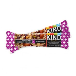 Kind Fruit & Nut Bar Pomegranate Blueberry Pistachio | Bulu Box - sample superior vitamins and supplements