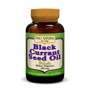 Only Natural - Black Currant Seed Oil   Bulu Box - sample superior vitamins and supplements