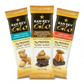 Sample and review Raw Rev Glo Protein Bars when you sign up for Bulu Box