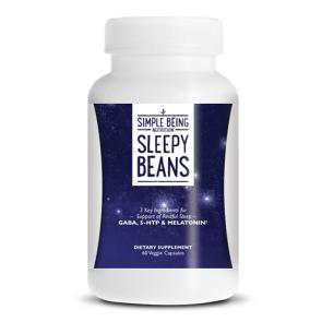 Simple Being Sleepy Beans | Bulu Box - sample superior vitamins and supplements