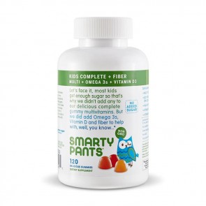 Smarty Pants All-in-One Kids Fiber Complete Gummy Multivitamin | Bulu Box - sample superior vitamins and supplements