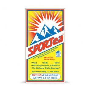 SPORTea Hot Tea   Bulu Box - sample superior vitamins and supplements