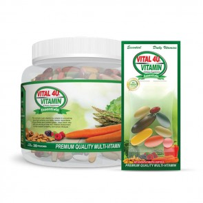 Vital 4U Vitamin Essentials   Bulu Box - Sample superior vitamins and supplements