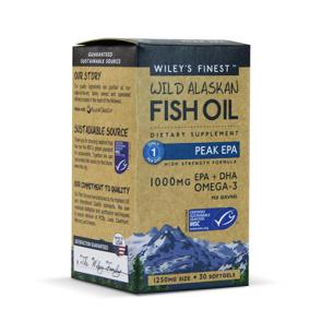 Wiley's Finest Wild Alaskan Fish Oil Peak EPA | Bulu Box - sample superior vitamins and supplements